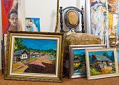 Valuable paintings collection
