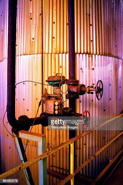 valves and pipes - thinkstock stock-fotos und bilder
