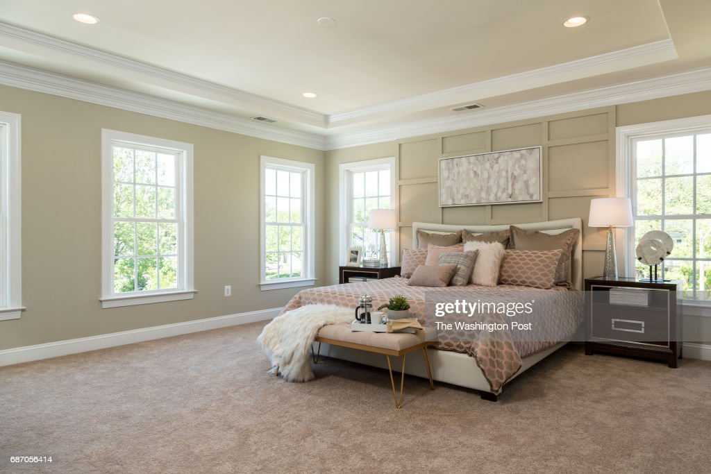 Master Bedroom In The Third Floor Master Suite In The Model At
