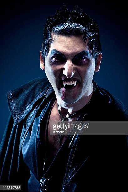 vampire. - fang stock pictures, royalty-free photos & images