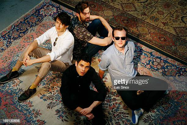 Vampire Weekend is photographed for Los Angeles Times on April 19 2013 in Santa Monica California PUBLISHED IMAGE CREDIT MUST BE Luis Sinco/Los...