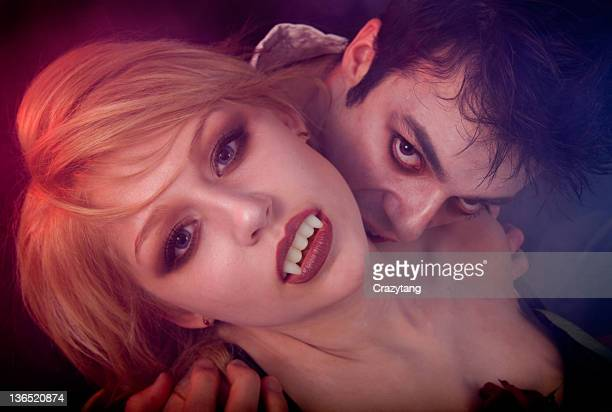 vampires - zombie girl stock photos and pictures