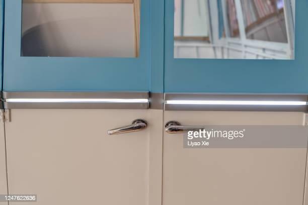van back door - liyao xie stock pictures, royalty-free photos & images