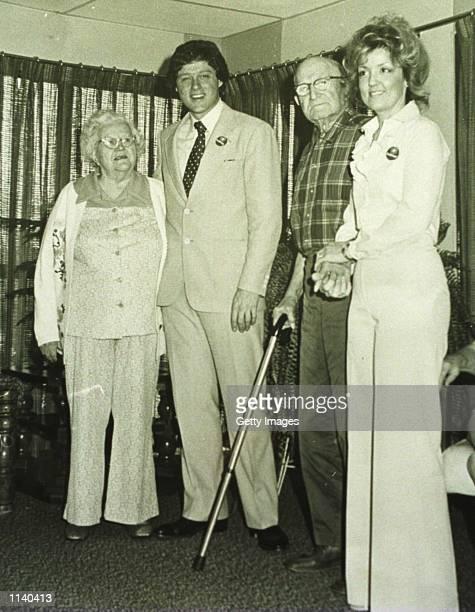 1978 Van Buren Arkansas Bill Clinton on a visit to Juanita Broaddrick's nursing home