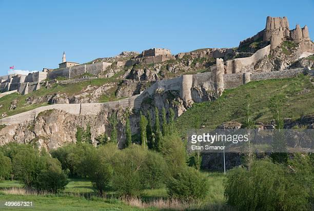 Van castle. Eastern Anatolia. Turkey.