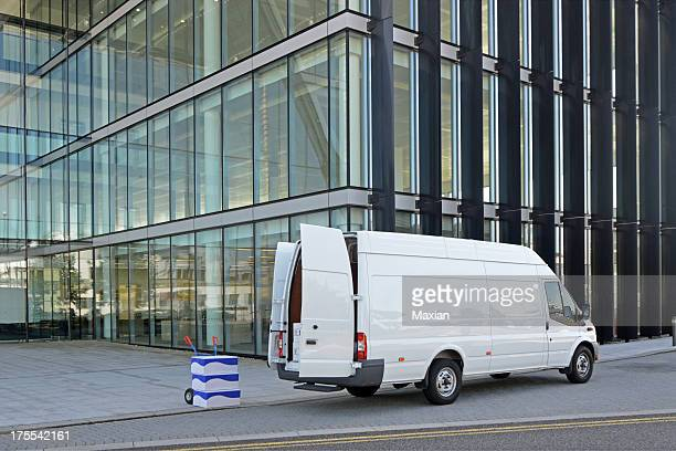 van delivery - van stock pictures, royalty-free photos & images