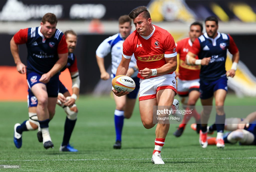 United States v Canada: Rugby World Cup 2019 Qualifier : News Photo