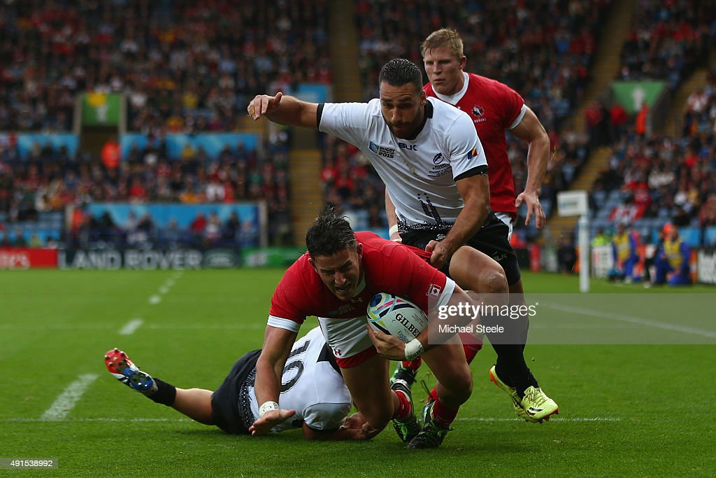 Canada v Romania - Group D: Rugby World Cup 2015 : News Photo