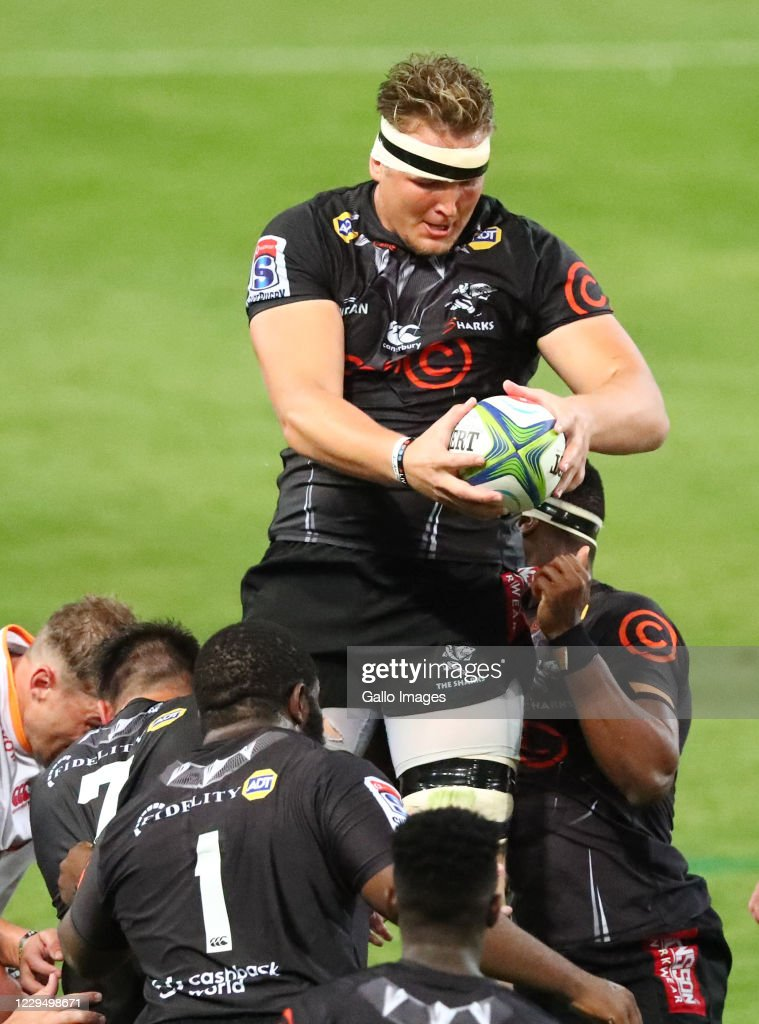 Super Rugby Unlocked: Cell C Sharks v Toyota Cheetahs : News Photo