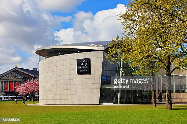 van gogh museum, amsterdam, netherlands - vincent van gogh stock pictures, royalty-free photos & images