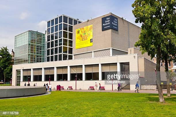 museu van gogh, de amesterdão. - vincent van gogh pintor imagens e fotografias de stock