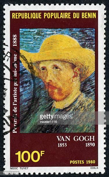 van gogh carimbo - vincent van gogh pintor imagens e fotografias de stock