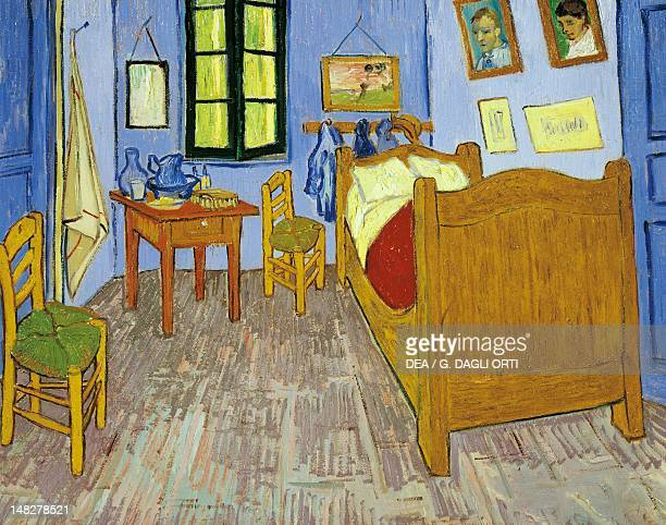 Van Gogh's bedroom in Arles oil on canvas 575 x 74 cm Version preserved in the Musee d'Orsay in Paris Paris Musée D'Orsay
