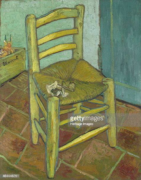 Van Gogh's Chair 1888 Found in the collection of the National Gallery London