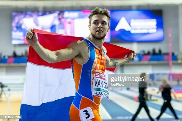 van GOOL Joris NED competing in the 60m Men Final event during day TWO of the European Athletics Indoor Championships 2019 at Emirates Arena in...