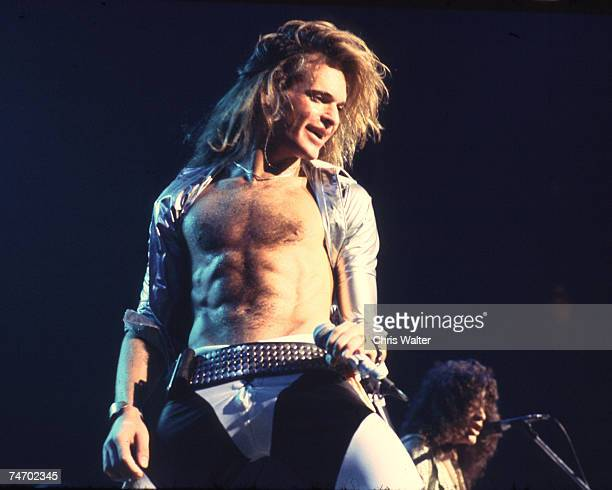 Van Halen 1978 David Lee Roth during Music File Photos The 1970s by Chris Walter at the Music File Photos 1970's in los angeles