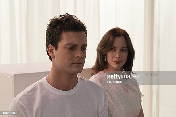 LIVE Van Hughes and Susan Batten in a scene that airs the week of January 9 2012 on ABC Daytime's 'One Life to Live' 'One Life to Live' airs...