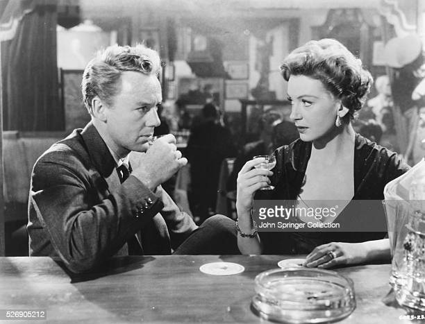 Van Johnson as Maurice Bendrix and Deborah Kerr as Sarah Miles in the 1955 film The End of the Affair