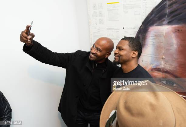 Van Jones and Russell Craig attend The OG Experience by HBO at Studio 525 on February 23 2019 in New York City