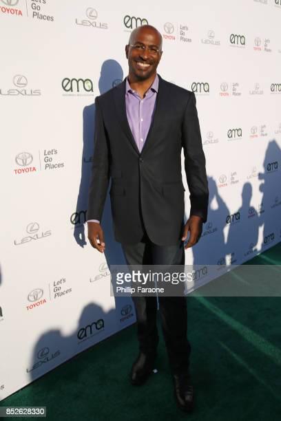 Van Jones at the Environmental Media Association's 27th Annual EMA Awards at Barkar Hangar on September 23 2017 in Santa Monica California