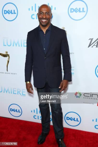Van Jones attends 10th Annual Lumiere Awards at Warner Bros Studios on January 30 2019 in Burbank California