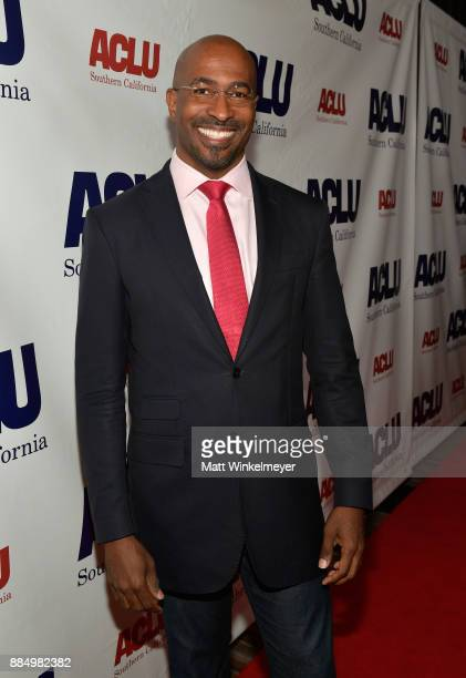 Van Jones attends ACLU SoCal Hosts Annual Bill of Rights Dinner at the Beverly Wilshire Four Seasons Hotel on December 3 2017 in Beverly Hills...