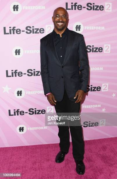 Van Jones attends Life Size 2 World Premiere at Hollywood Roosevelt Hotel on November 27 2018 in Hollywood California