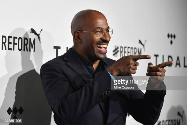 Van Jones attends the 4th Annual TIDAL X Brooklyn at Barclays Center of Brooklyn on October 23 2018 in New York City