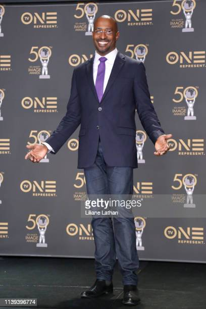 Van Jones attends the 50th NAACP Image Awards at Dolby Theatre on March 30 2019 in Hollywood California