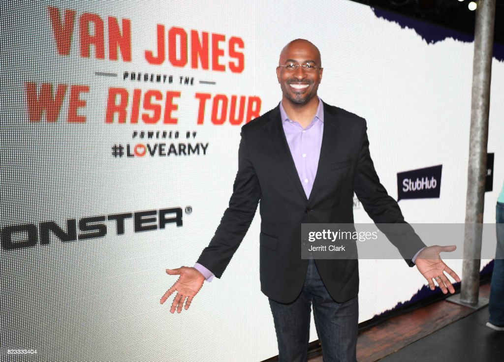 Van Jones attends the VAN JONES WE RISE TOUR powered by #LoveArmy at Hollywood Palladium on July 26, 2017 in Los Angeles, California.