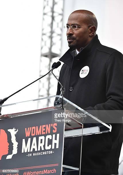 Van Jones attends the Women's March on Washington on January 21 2017 in Washington DC