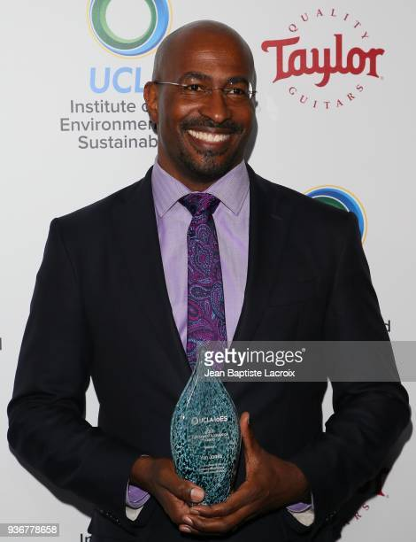 Van Jones attends UCLA's 2018 Institute of the Environment and Sustainability Gala on March 22 2018 in Beverly Hills California