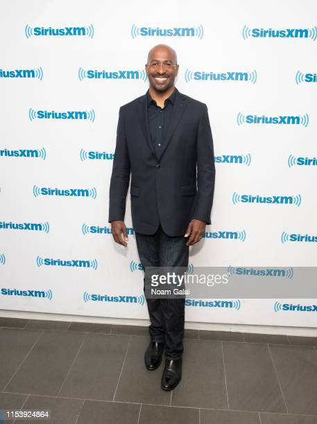 Van Jones visits the SiriusXM Studios on June 05 2019 in New York City
