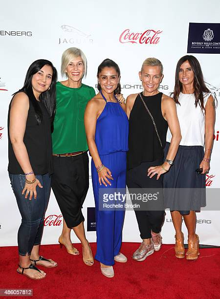 Van Khanna Sira Butler Cindee Rood Simone Young Smith Draven Godwin attend the Accelerate4Change charity event presented by Dr Ben Talei Cinemoi on...