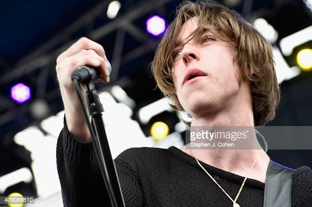 Van McCann of Catfish and the Bottlemen performs during Bunbury Music Festival on June 5 2015 in Cincinnati Ohio