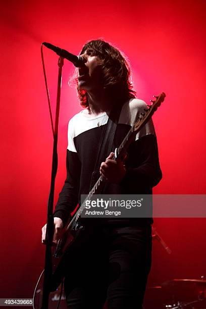 Van McCann of Catfish And The Bottlemen performs on stage at The Ritz during Dot To Dot Festival on May 23, 2014 in Manchester, United Kingdom.