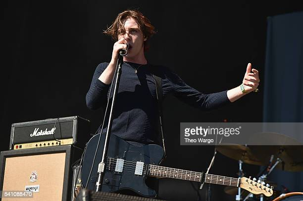 Van McCann of Catfish and the Bottlemen performs onstage at Firefly Music Festival on June 18 2016 in Dover Delaware