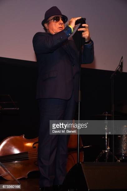 Van Morrison attends the Jazz FM Awards 2017 at Shoreditch Town Hall on April 25 2017 in London England