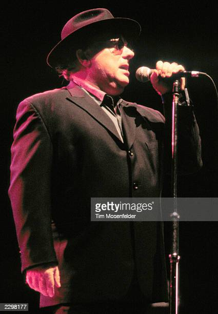 Van Morrison performing at Shoreline Amphitheater in Mountain View Calif on September 26th 1998 Image By Tim Mosenfelder/ImageDirect