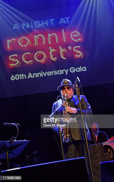 Van Morrison performs at A Night At Ronnie Scotts 60th Anniversary Gala at the Royal Albert Hall on October 30 2019 in London England
