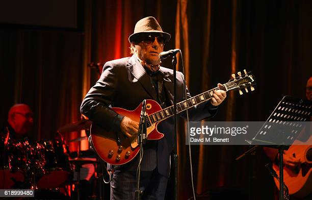 Van Morrison performs at Bill Wyman's 80th Birthday Gala as part of BluesFest London at Indigo at The O2 Arena on October 28 2016 in London England
