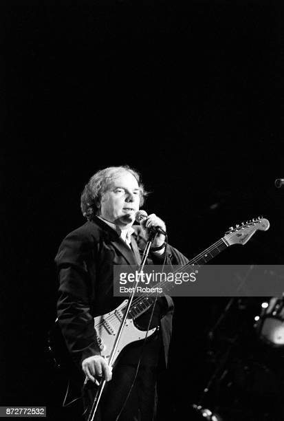 Van Morrison performs at the Beacon Theatre in New York City on November 29 1989