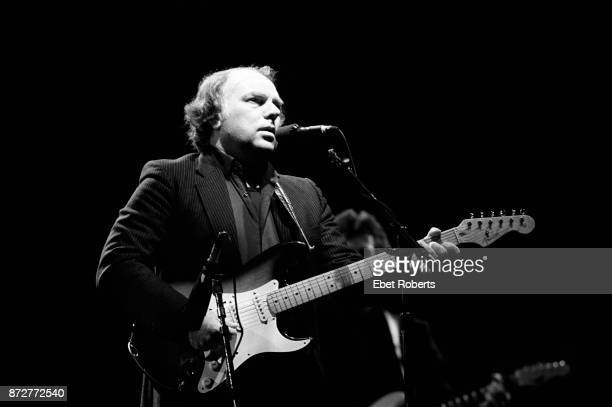 Van Morrison performs at the Beacon Theatre in New York City on March 7 1989