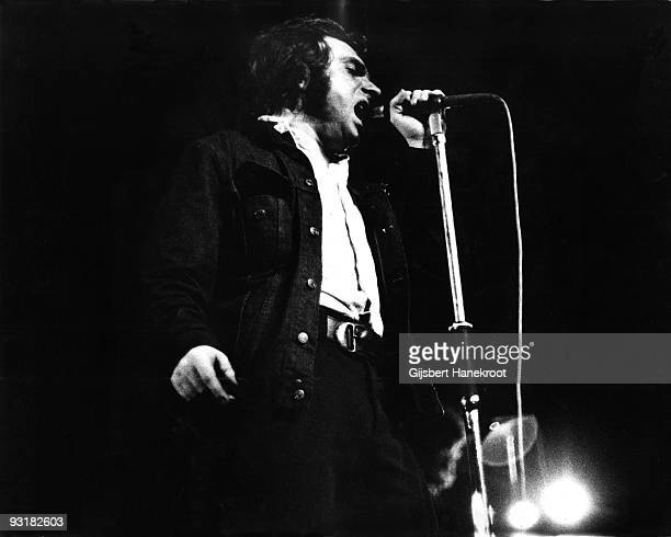 Van Morrison performs live at the Carre Theatre in Amsterdam Holland on July 19 1973