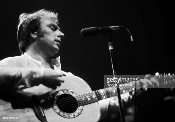 Van Morrison performs on stage at the Carre Theater Amsterdam Netherlands 1974