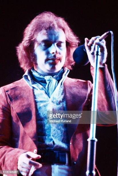 Van Morrison performs on stage at the Rainbow Theatre London 24th July 1973