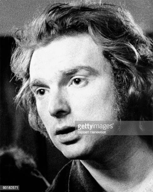 Van Morrison posed in Amsterdam Holland on July 19 1973