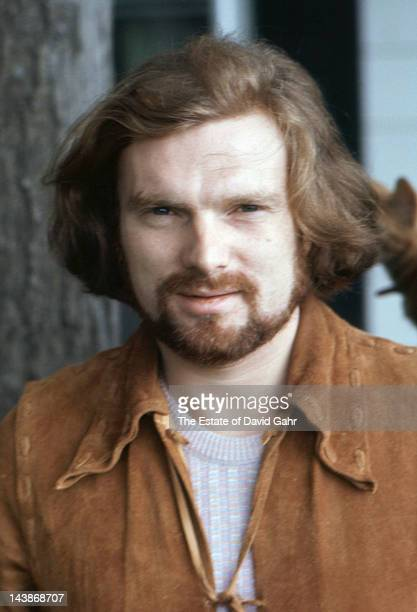 Van Morrison poses for a portrait in1970 in Woodstock New York