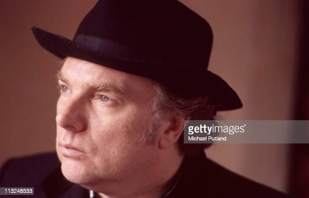 Van Morrison studio portrait Bath 30th May 1989