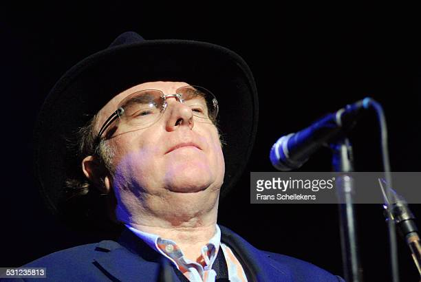 Van Morrison, vocals and saxophone, performs at the North Sea Jazz Festival in Ahoy on July 15th 2006 in Rotterdam, Netherlands.
